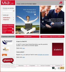 Via CTT Website Jan 2009
